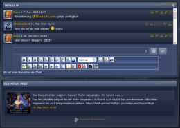 CMS phpBB Chat & RSS Newsfeed Funktionen