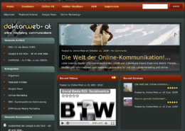 CMS WordPress Blog Doktorweb